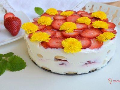 Nejjednodušší dort, jaký znáte. Stačí čtyři suroviny a 20 minut času