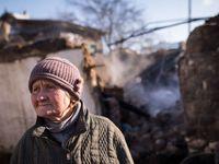 Ruská propaganda dokonale rozeštvává místní lidi, naříkají ukrajinští vojáci v ostřelované Avdějevce