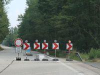 Fotoreportáž z nejrozkopanější silnice v ČR. Neuralgickým bodem je most ve Staré Hlíně