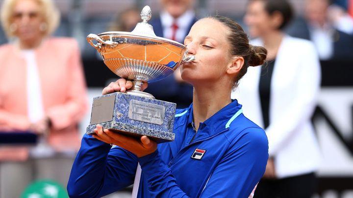 Plíšková vyhrála v Římě třináctý titul kariéry, Nadal uštědřil Djokovičovi kanára