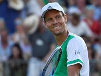 Berdych v exhibici před Wimbledonem porazil Nadala