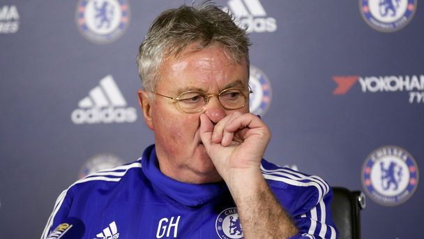 Guus Hiddink, nový kouč Chelsea