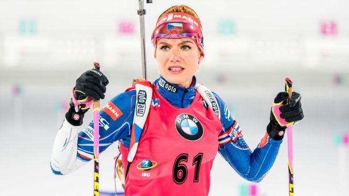Koukalová v Koreji přišla o průběžné vedení ve sprintu, kralovala Dahlmeierová