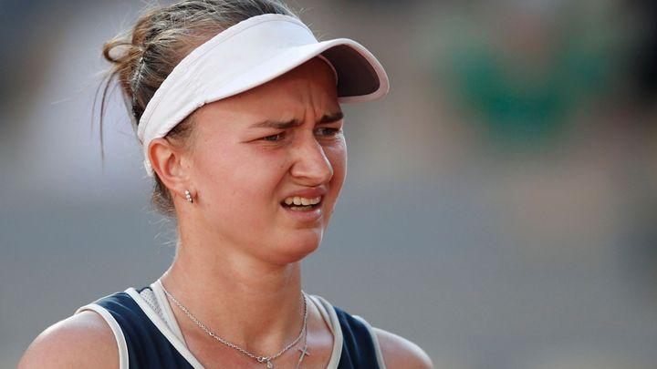 Bolístky jsou, potřebuju spát, přiznává Krejčíková. Čekají ji dvě finále French Open; Zdroj foto: Reuters