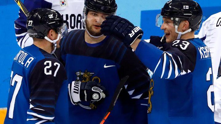 Finové zdolali v osmifinále Koreu, Němci přetlačili Švýcary