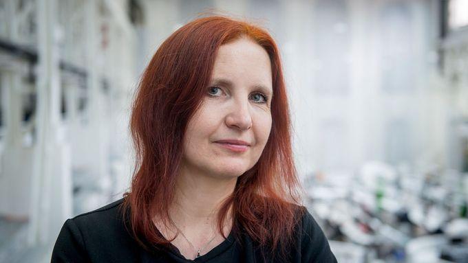 Vizuální umělkyně Jolana Havelková.