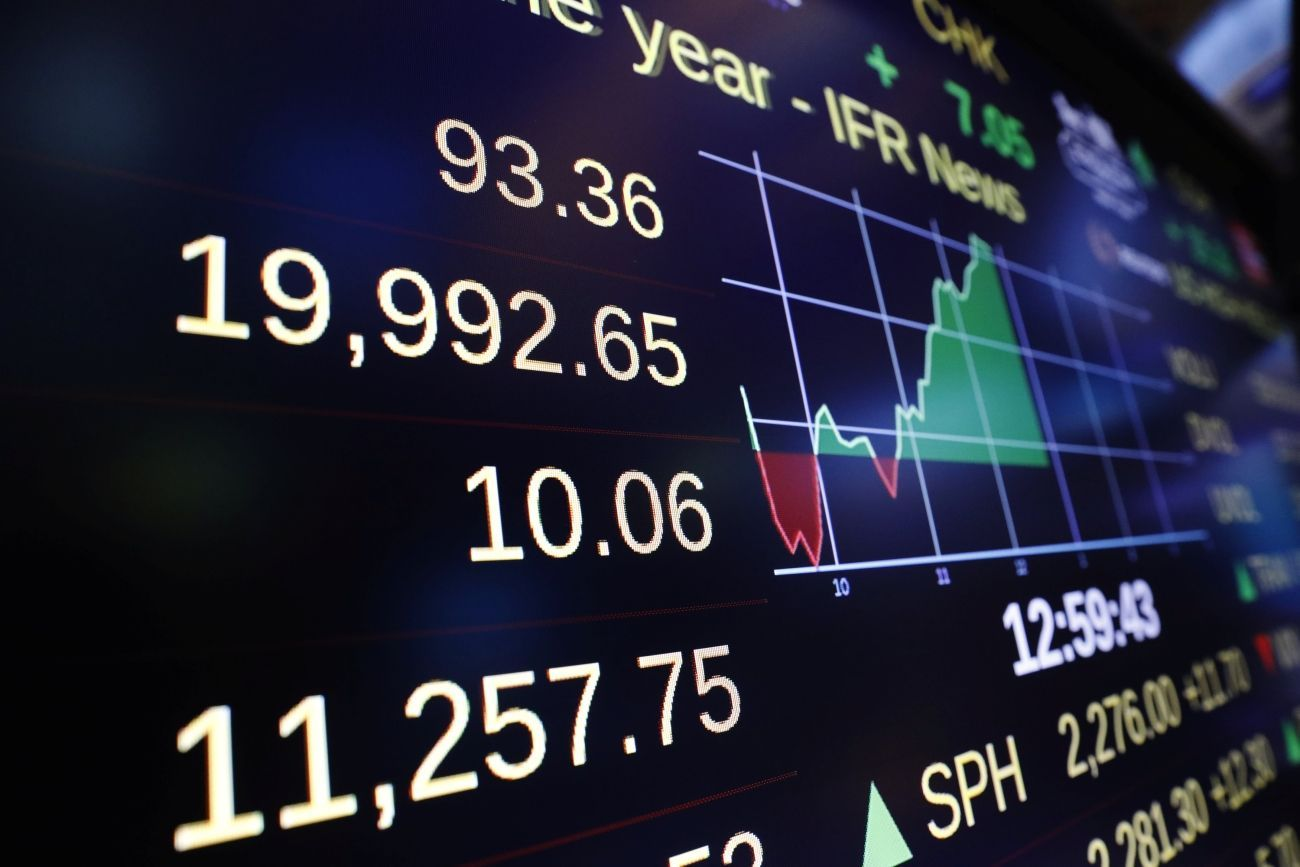 Burza, akcie, Wall Street, Dow Jonesův index