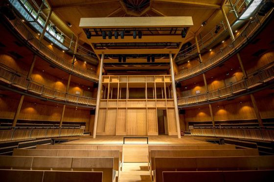 The Hardelot Elizabethan Theatre