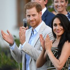 Harry a Meghan v Africe