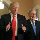 Donald Trump a Mitch McConnell