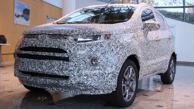 Ford vyvinul nový design fólie s 3D efektem. Díky němu těžko rozpoznáte  tvary karoserie. dc0599c3bb1