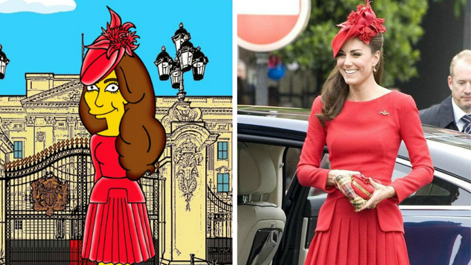Kate zežloutla a míří za pivařem Homerem do Simpsonů