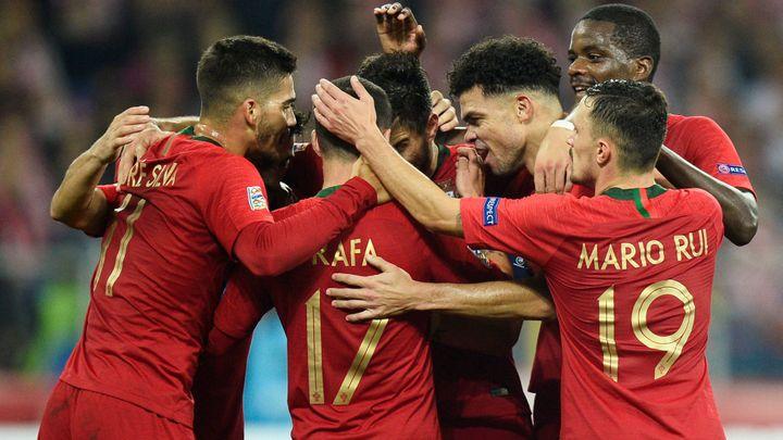 Portugalci vyhráli v Polsku i bez Ronalda, za Rumunsko skóroval sparťan Chipciu