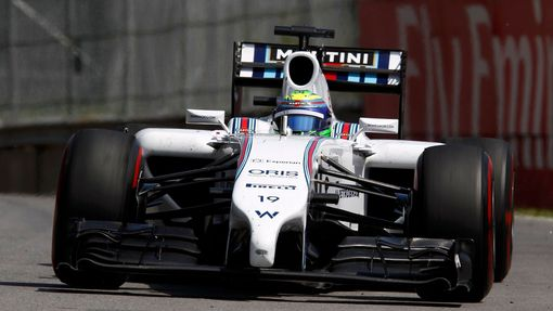 Williams Formula One driver Felipe Massa of Brazil drives during the Canadian F1 Grand Prix at the Circuit Gilles Villeneuve in Montreal June 8, 2014. REUTERS/Chris Watti