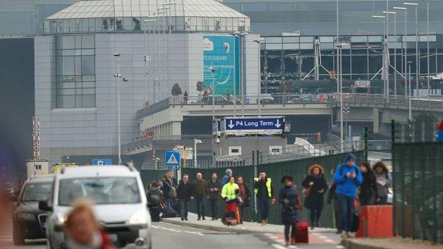 Bruselské letiště po útocích