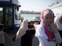 S dítětem na útěku. Syrská běženkyně ztratila roční dceru, shledaly se za tři týdny