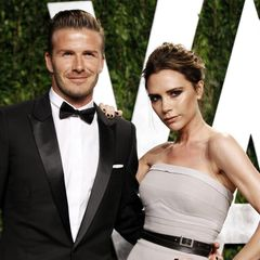 Vanity Fair Oscar party - David Beckham a Victoria Beckham