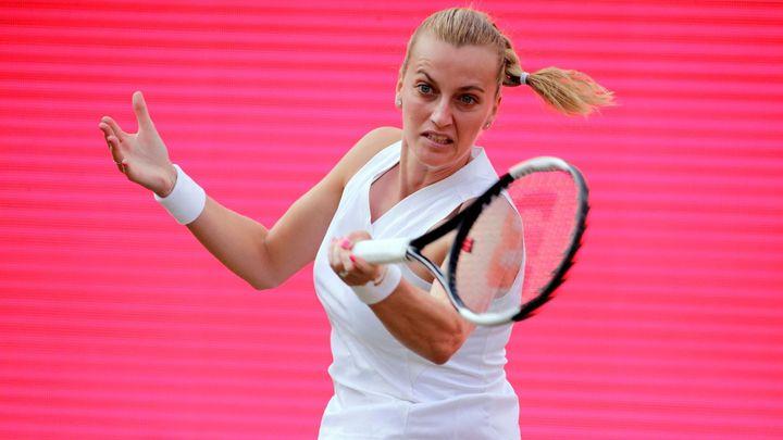 Kvitová porazila Bertensovou a je na travnaté exhibici v Berlíně ve finále