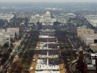 Živě: Na inauguraci viděl Trump 1,5 milionu lidí. Noviny fotky naschvál ořízly, tvrdí