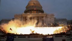 USA Donald Trump Washington Kongres protest demonstrace