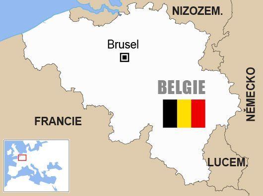 Belgie - mapa - Aktuálně.cz