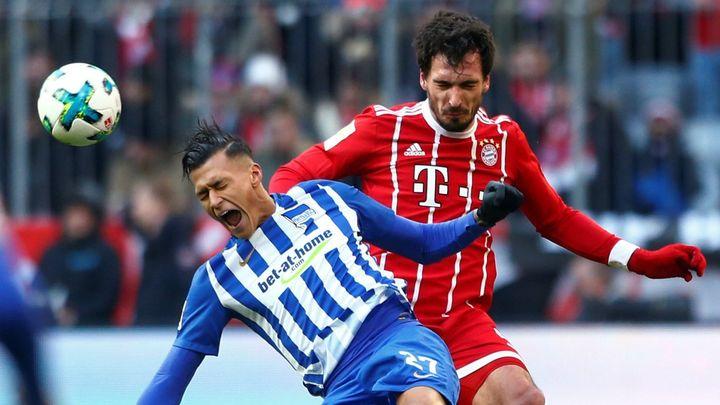 Darida pomohl Hertě k remíze na Bayernu, mnichovský klub po téměř třech letech nedal doma v lize gól