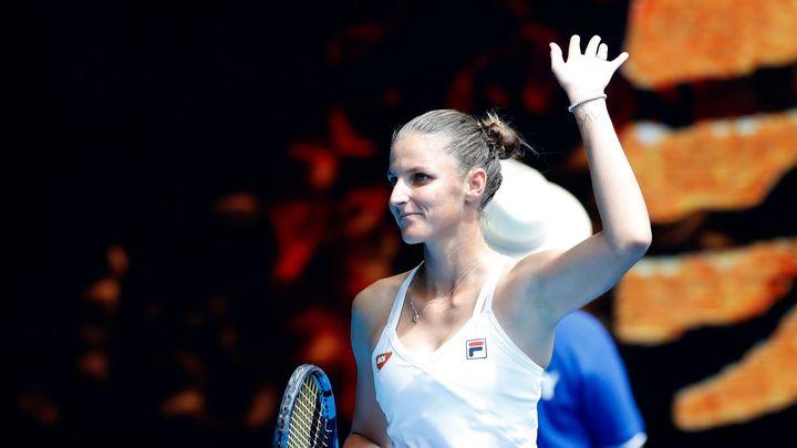Česko má jistou osmifinalistku Australian Open, Plíšková ani Muchová nezaváhaly