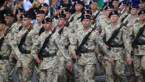 Polská armáda. Ilustrační foto.