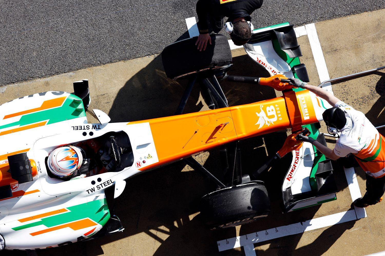 Formule 1: Paul di Resta, Force India