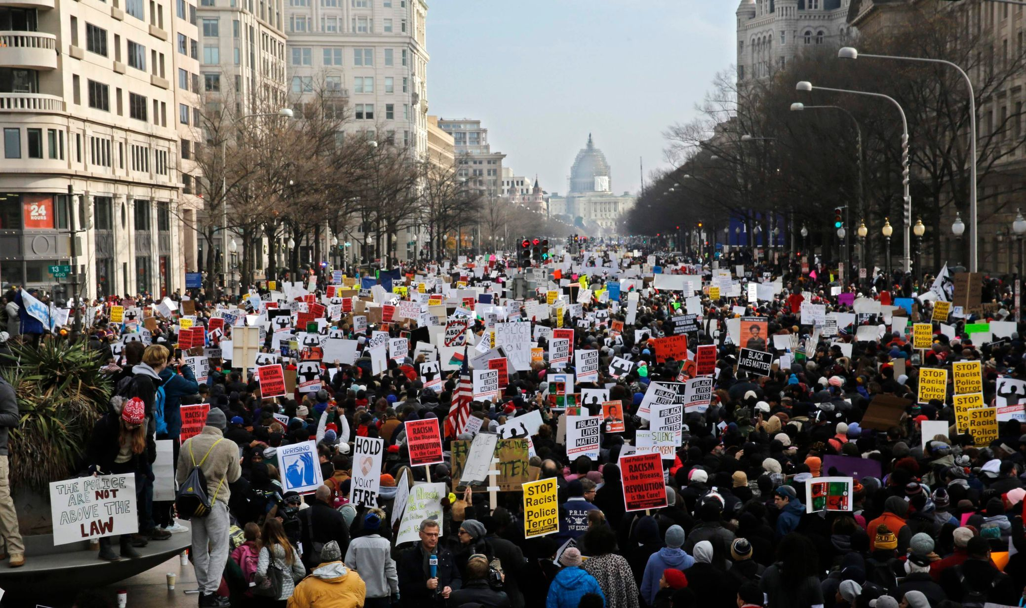 USA - Washington - demonstrace