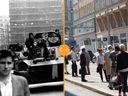 Tudy se valily tanky. Nahlédněte do pražských ulic roku 1968 a podívejte se na stejná místa dnes