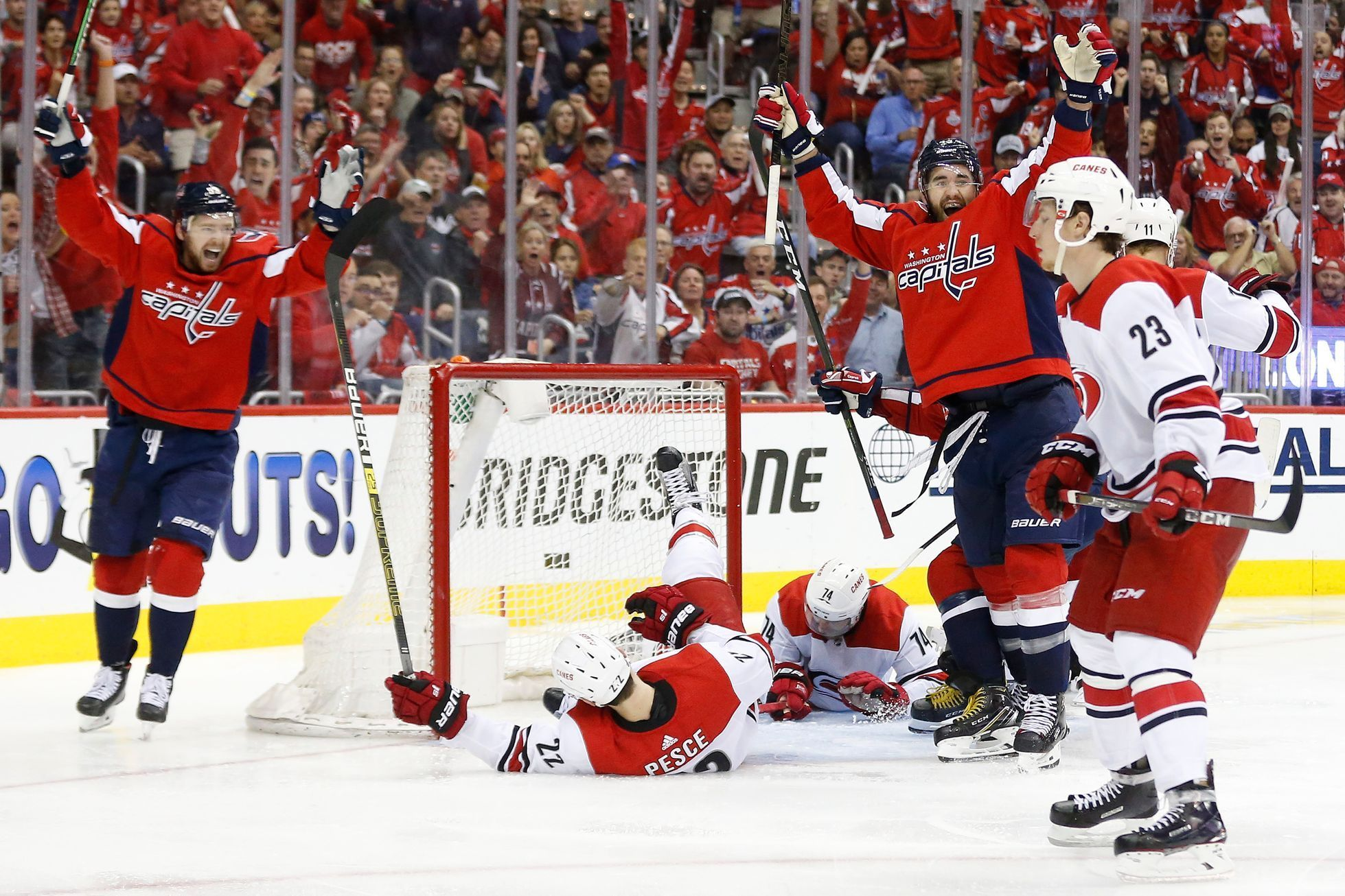 NHL, Washington Capitals – Carolina Huricanes, Tom Wilson