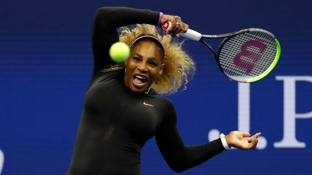 Serena Williamsová v 1. kole US Open