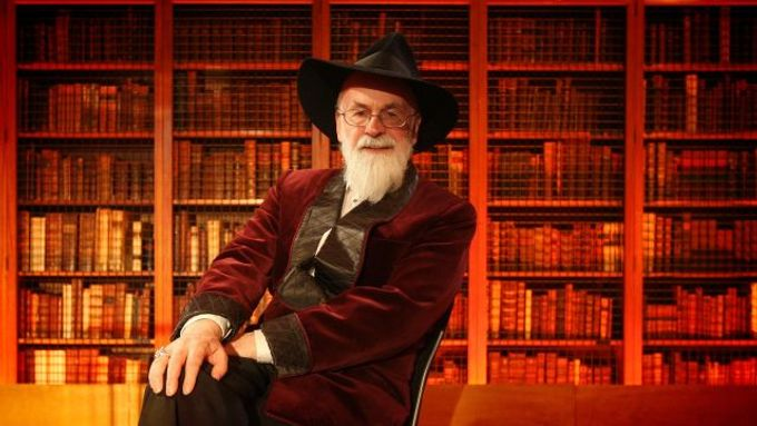 Terry Pratchett.