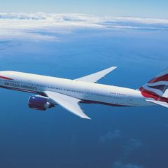 British Airways - letadlo