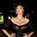 Kate Upton arrives at the Metropolitan Museum of Art Costume Institute Gala Benefit in New York