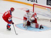 První porážka v sezoně. Češi v Moskvě sahali po výhře, ale podlehli Rusům na nájezdy