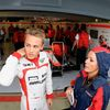 Marussia Formula One driver Max Chilton of Britain watches f