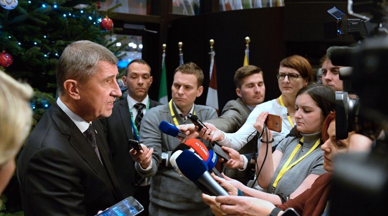 Babiš se na summitu premiérů EU pohádal s přáteli, vyhrožovali vyloučením z Schengenu