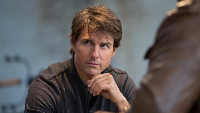 Tom Cruise ve filmu Mission: Impossible - Národ grázlů