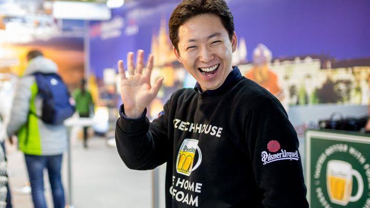 Další zlatá do sbírky. Český dům nadchl fanoušky v Koreji, nejvíc frčí pivo a stolní tenis