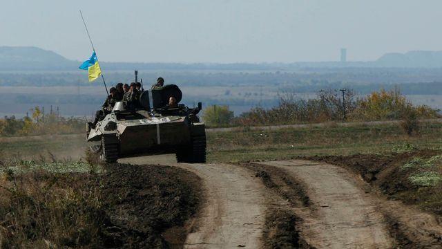 Kyjev zprávy o ofenzivě označil za nepravdivé. Prý dodržuje příměří z  Minsku. 87a9143a31a