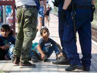 Drama ve vlaku s uprchlíky. První přejel hranici do Německa