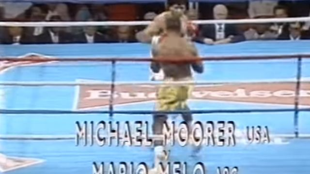 box, Michael Moorer vs. Mario Melo
