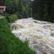 Na čtyřech místech na Šumavě stouply řeky na povodňové stavy