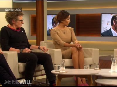 Němce udivil kameraman veřejnoprávní televize. Zabíral nohy moderátorky během debaty o sexismu