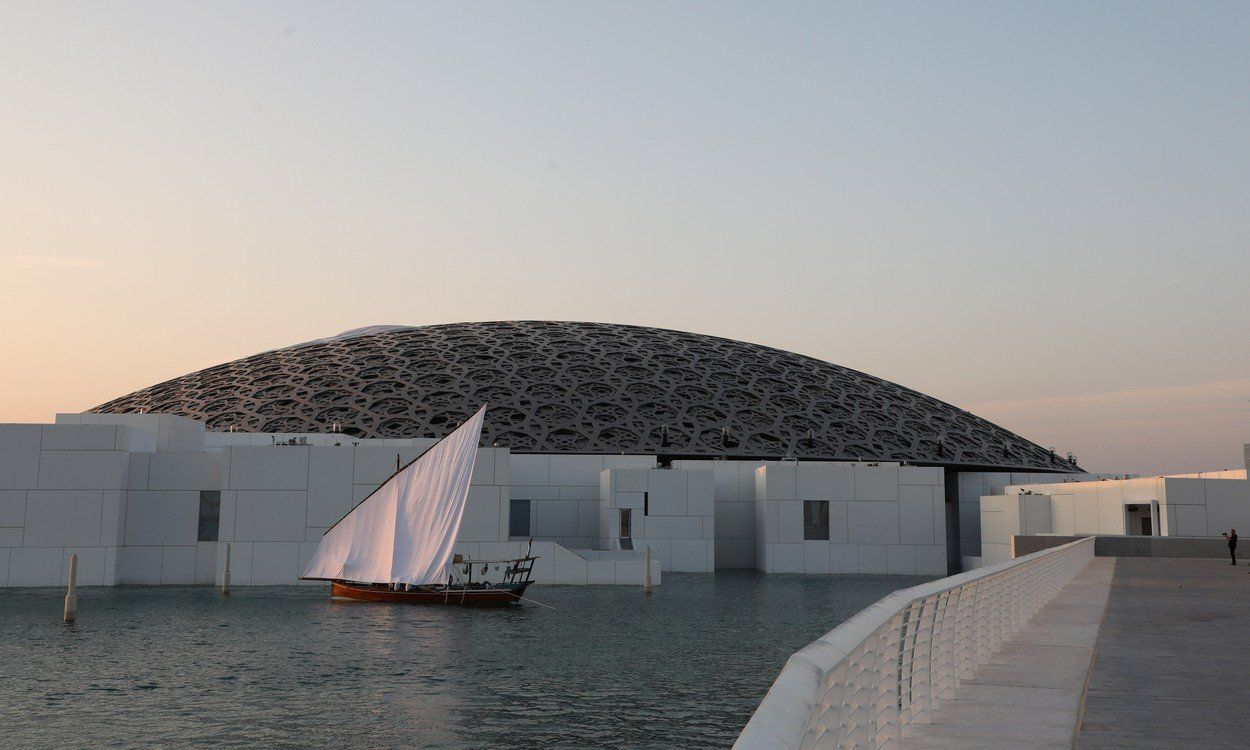 the Louvre Abu Dhabi Museum