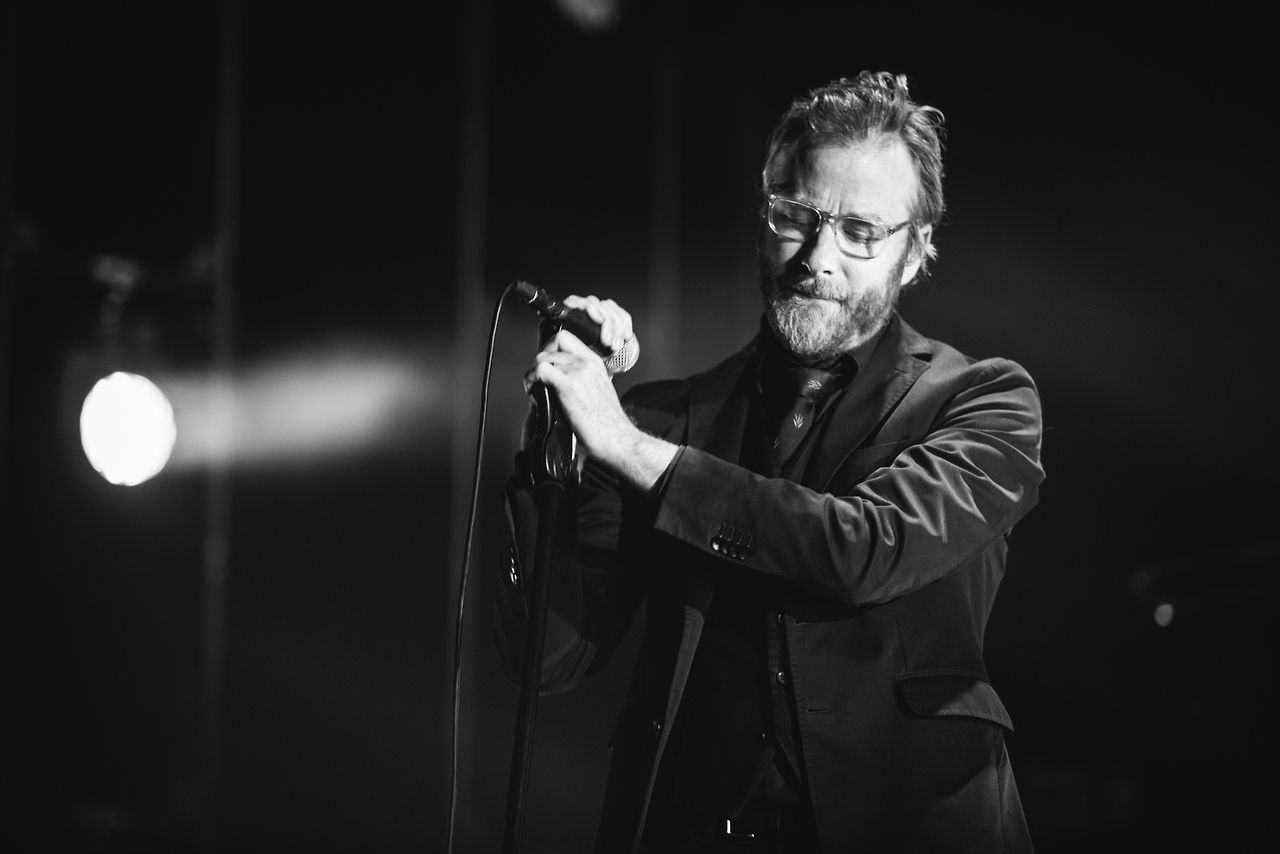 Matt Berninger, frontman The National.