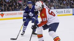 Florida Panthers at Toronto Maple Leafs, NHL 2015/16