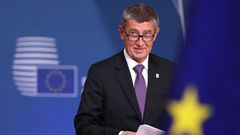 Andrej Babiš summit EU Brusel